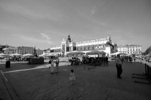 Rynek in Krakow