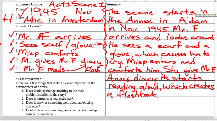 Sentence Analysis and Summarizing
