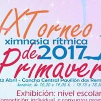 Domingo, na central de Os Remedios, IX Torneo de Ximnasia Rítmica de Primavera