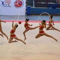 Ximnasia Pavillón logra o subcampionato galego escolar co conxunto Prebenxamín