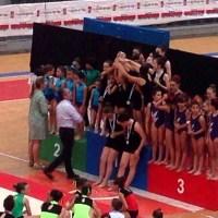 Ximnasia Burgas destaca en el Gallego escolar de acrobática