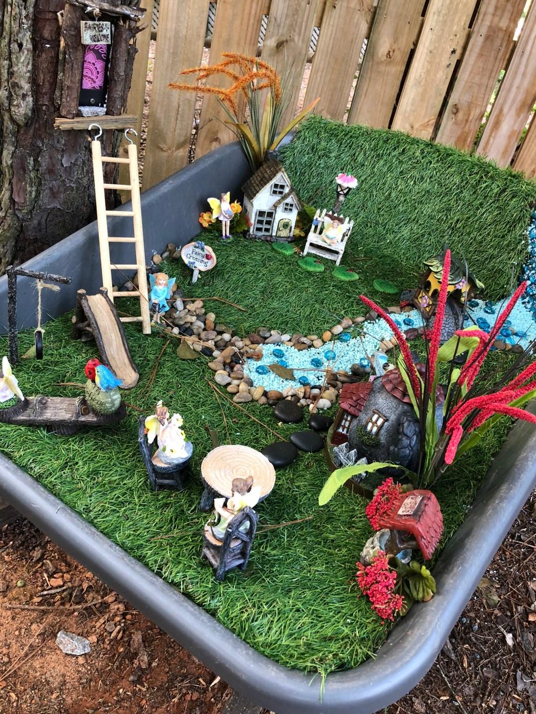 sweet fairy garden
