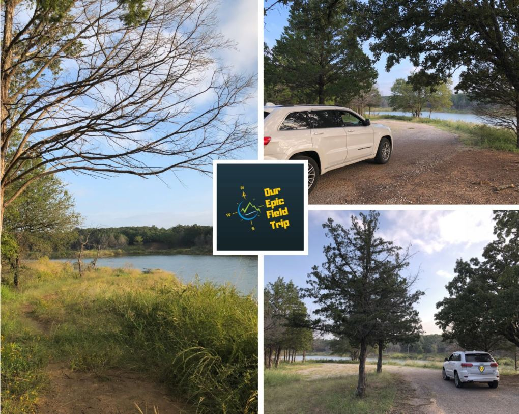 Blog pic - Jeep at Lake Texoma