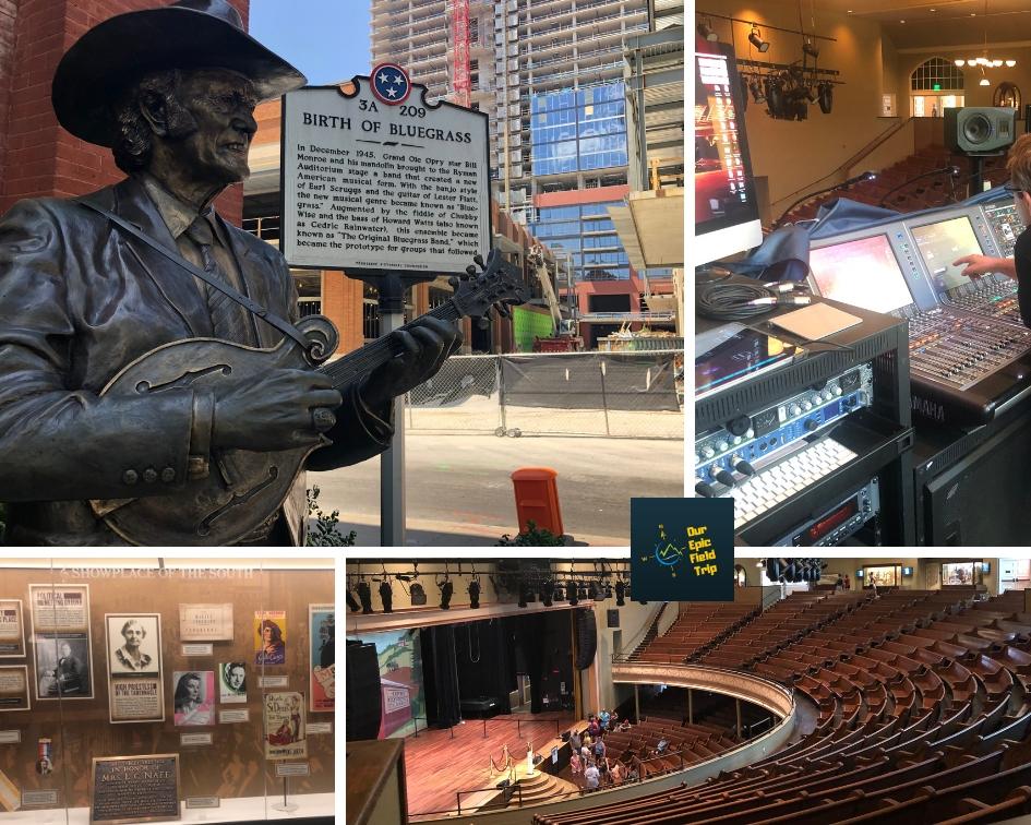 Natchez Trace - Nashville - Heritage and history at the Ryman Auditorium