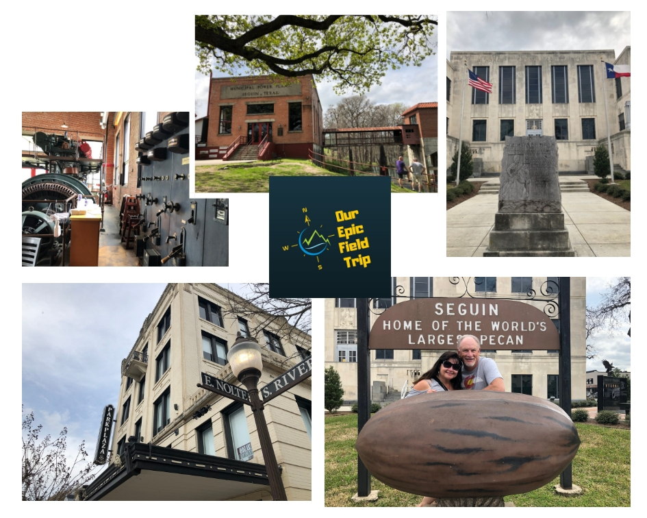 small towns in texas - scenes from Seguin
