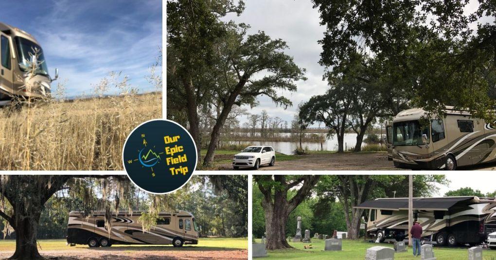 Variety of campground pics