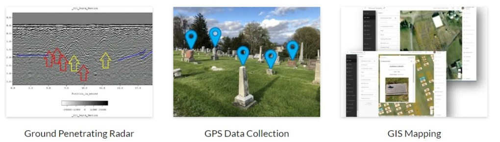 cemetery mapping services