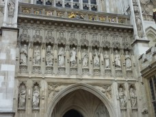 Modern Martyrs on Westminster Abbey