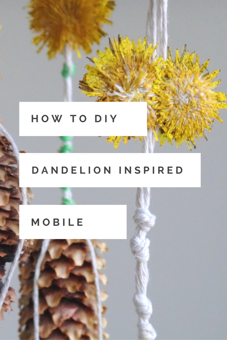 DIY Nature Inspired Dandelion Mobile (1)