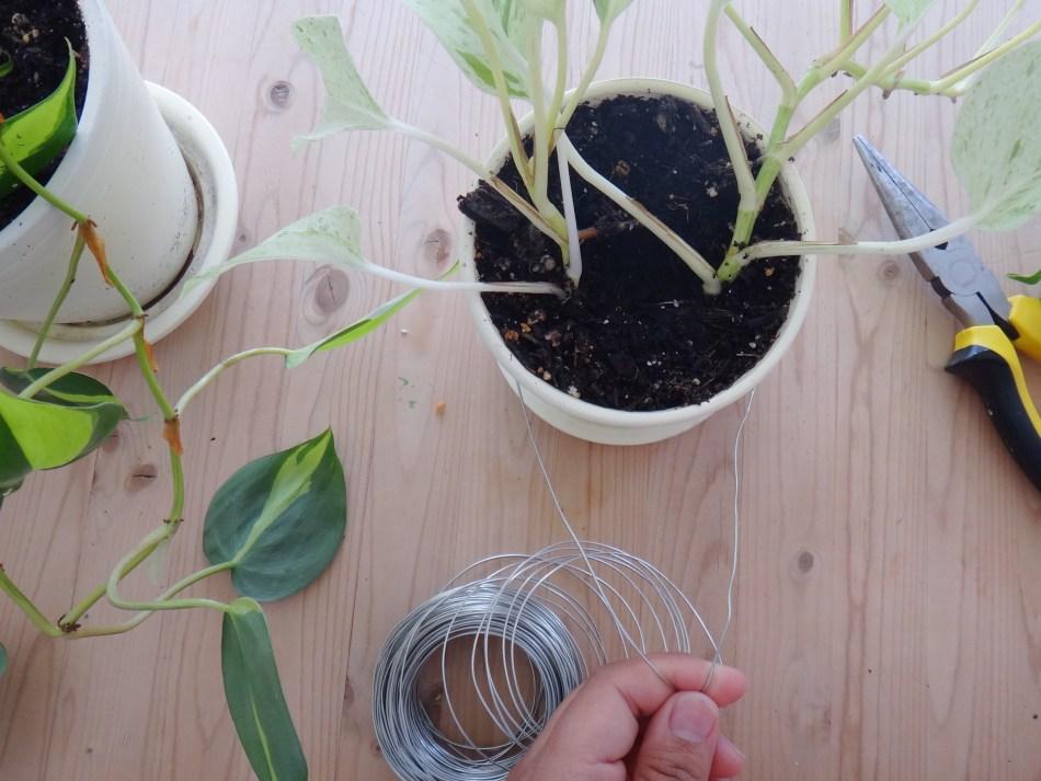 DIY Plant Hanger with Repurposed Baby Gates (6)