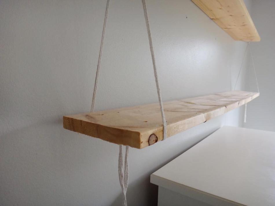 DIY Rope Shelves Edmonton Mommy Blogger (6)