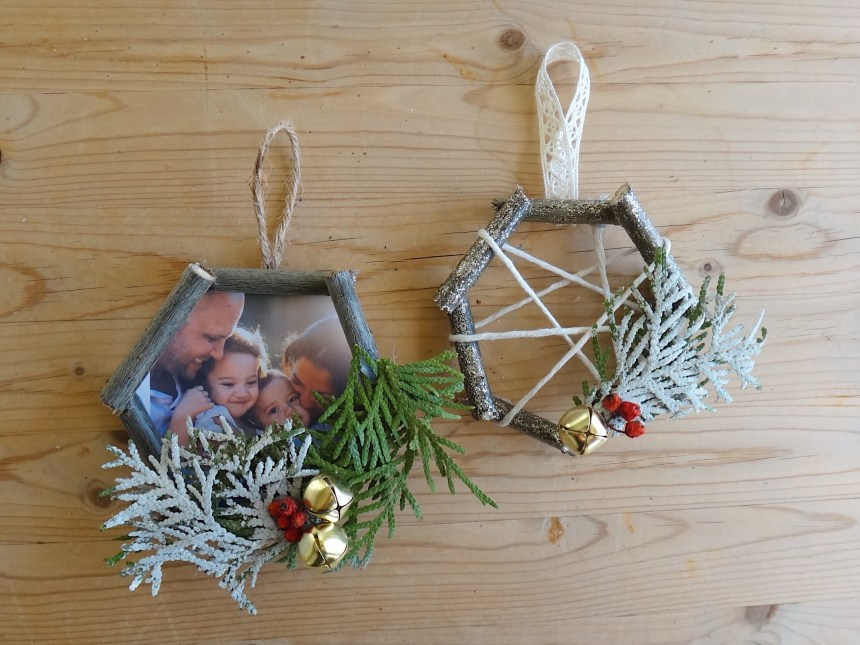 DIY Christmas Ornaments Nature Macrame Inspired (12)