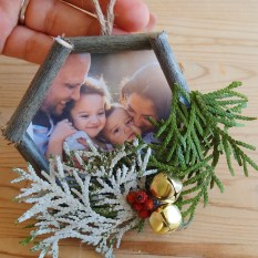 DIY Christmas Ornaments Nature Macrame Inspired (15)