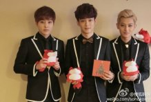 Xiumin, Chen & Tao