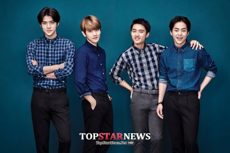 Sehun, Baekhyun, D.O. & Xiumin