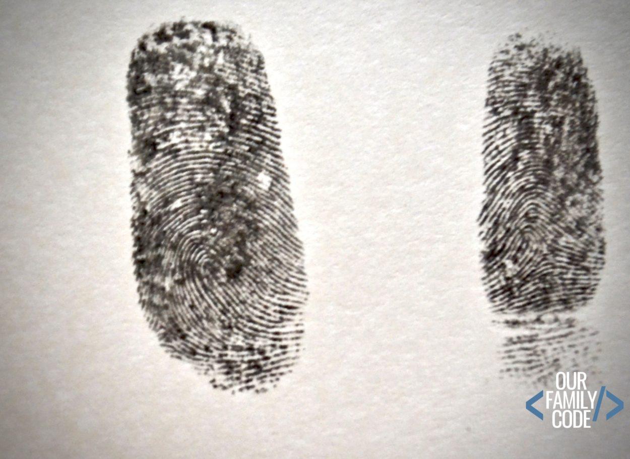 Family Fingerprint Science Investigation Steam Activity