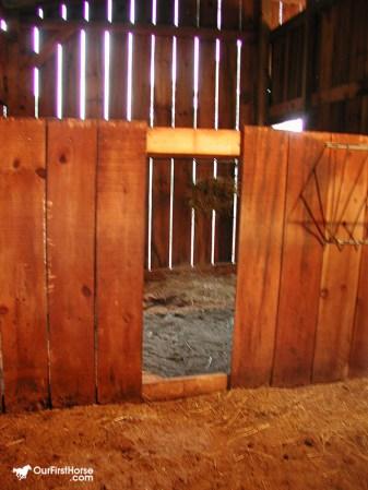 Sharing a stall damange