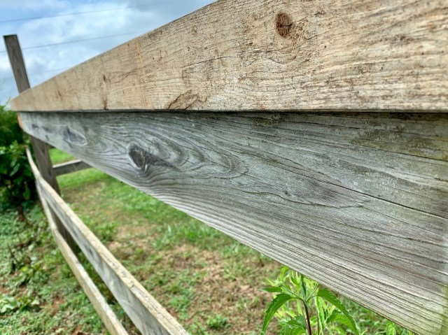 2x4 fence board support