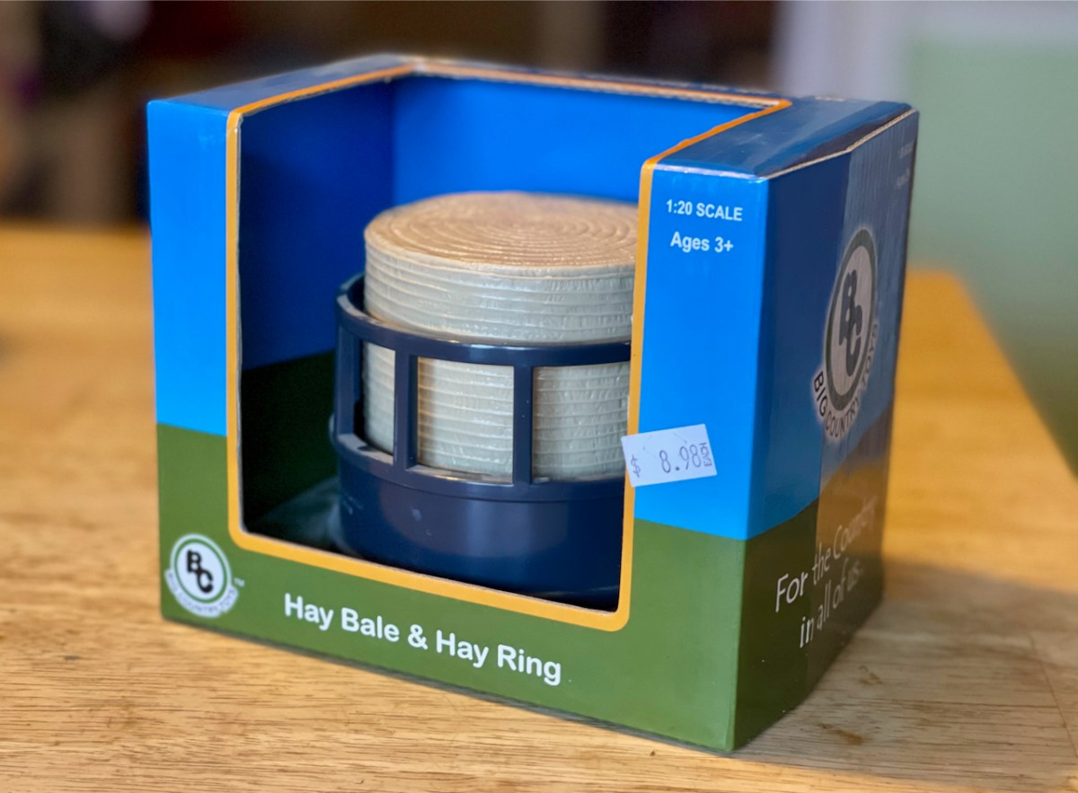 hay bale feeder toy