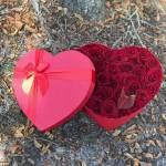 Romantic Red Heart Hatbox-2