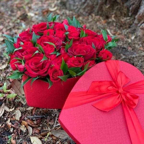 Romantic-Red-Heart-Box