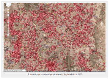 every car bomb in baghdad since 2003