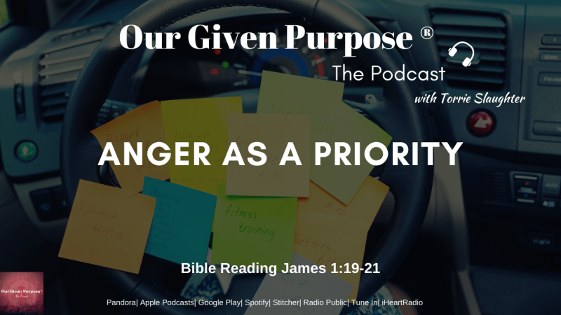 Anger as a Priority, The Podcast