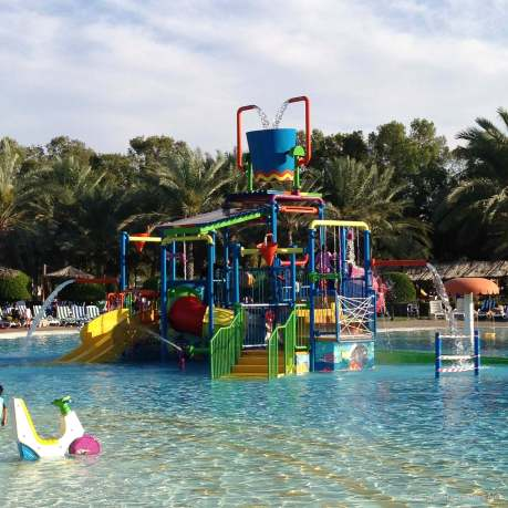 Kids splash area at Dreamland