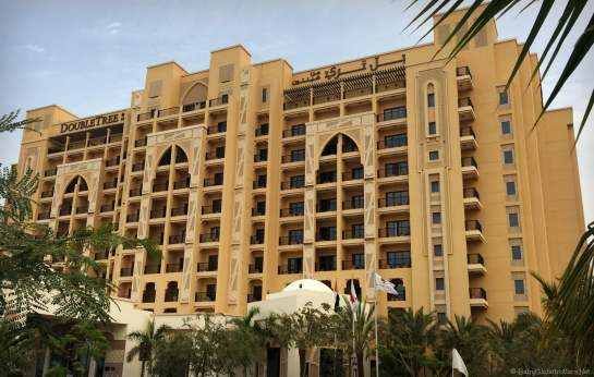 Fun for all the family at Marjan Island - Main Hotel Building | OurGlobetrotters.Com