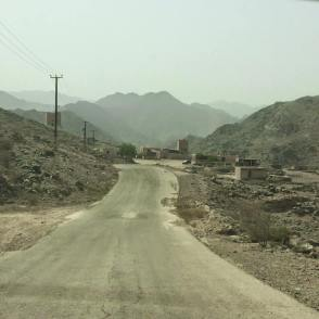 Arriving at Al Hayl Fort (Photo Credit My Yellow Bells)