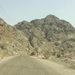 Many windy & mountainous roads in Fujairah (Photo Credit My Yellow Bells)