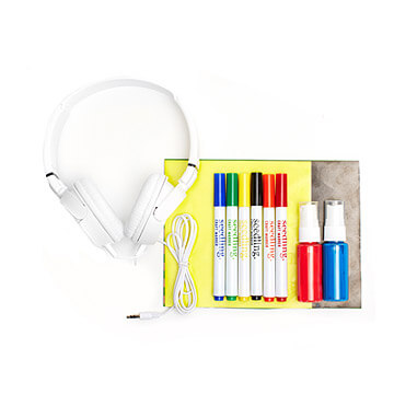 Design your own headphones | Travel gift ideas for boys Uncommon Goods
