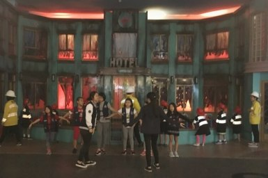 A day out at KidZania Singapore with the Globetrotters