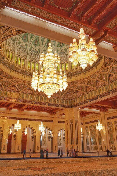 Places to visit in Muscat with Kids | Sultan Qaboos Grand Mosque