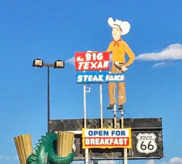 big texan sign 2