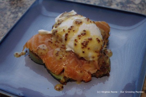 Poached egg and salmon 6 2013