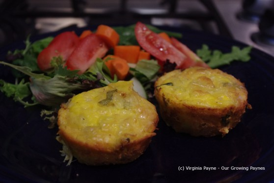 Zucchini flan 8 2013