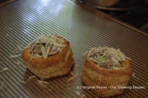 Leek and mushroom pastry 8 2014