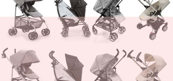 Rear facing umbrella stroller | ourguidetotheeveryday.com
