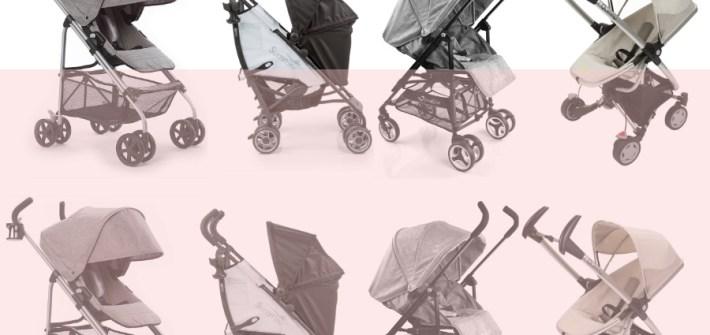 Rear facing umbrella stroller | ourguidetotheeveryday.com