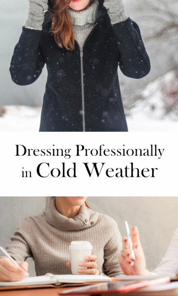 Winter workwear | ourguidetotheeveryday.com