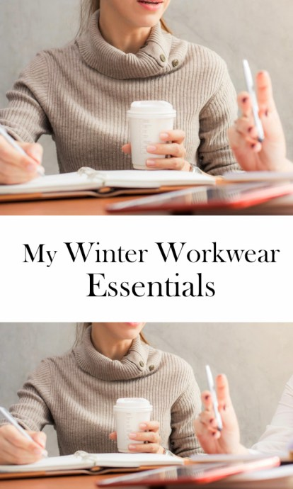 winter workwear essentials | ourguidetotheeveryday.com