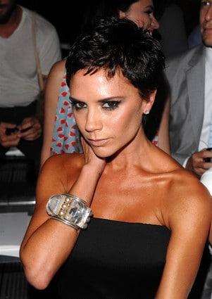 Victoria Beckham Short Pixie Cut