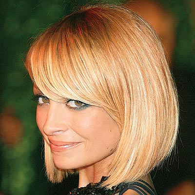 Nicole Richie longer bob