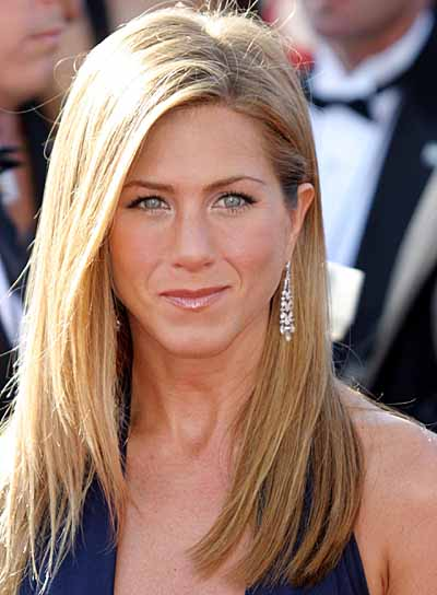 Jennifer Aniston Sleek Hairstyle
