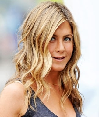 Jennifer Aniston Curly Hairdo