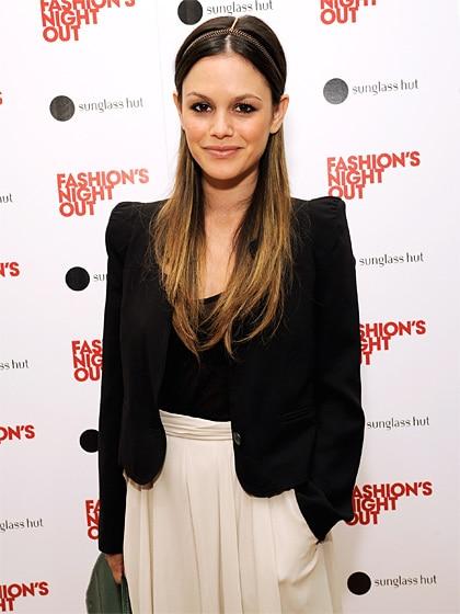 Rachel Bilson headband hairstyle