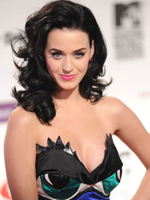 Katy Perry Black Hair