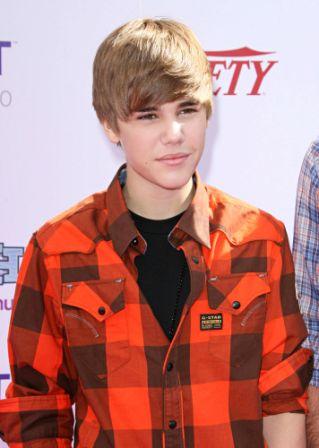 Justin Bieber Hairdo 2010