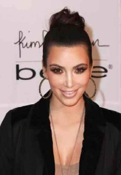 Kim Kardashian Hair In Bun 28 Images Kim Kardashian Straight
